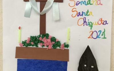 """Estas son las otras dos obras premiadas en el Concurso del Cartel de Semana Santa """"chiquita"""" 2021"""